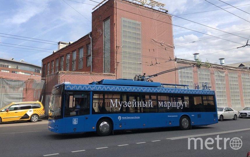 Пока по музейному маршруту ездят троллейбусы СВАРЗ-МАЗ. Фото Василий Кузьмичёнок