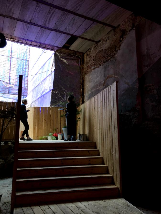 """Здесь собираются молодые петербуржцы, многие приходят с детьми. Кстати, столики забронировать нельзя. Фото Карина Тепанян, """"Metro"""""""