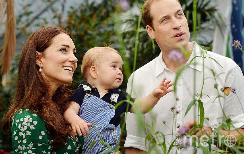 Кейт Миддлтон и принц Джордж. Фото Getty