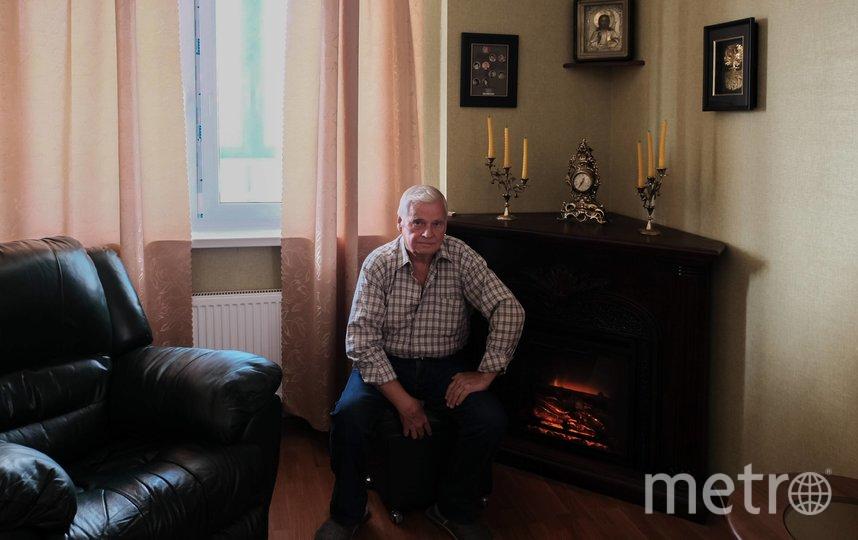 """Юрий Шенявский 44 года работал в газовом хозяйстве, газифицировал районы города и Ленобласти . Фото Алена Бобрович, """"Metro"""""""