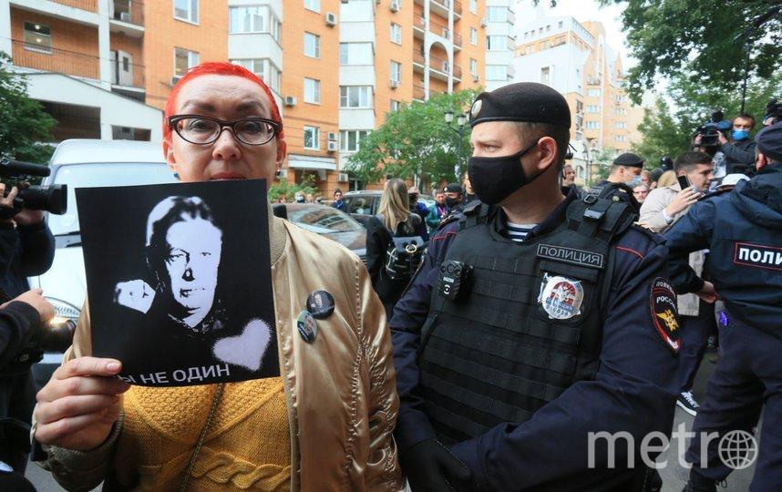 События возле здания суда. Фото Василий Кузьмичёнок