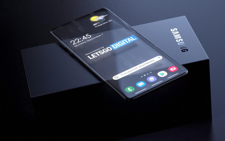 Основой смартфона станет прозрачный дисплей. Фото twitter.com/letsgodigitalNL.