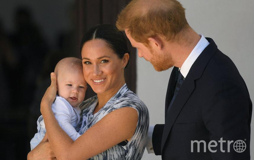В настоящее время Меган Маркл и принц Гарри вместе с сыном Арчи живут в Калифорнии. Фото Getty