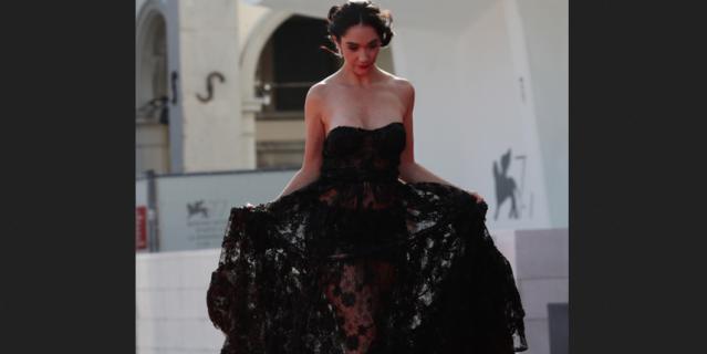 Красная дорожка кинофестиваля в Венеции.