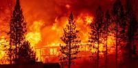 В Калифорнии бушуют пожары: фото с места ЧП