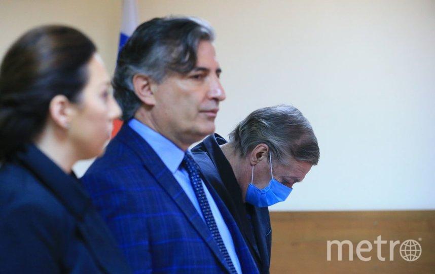 Михаилу Ефремову вынесли обвинительный приговор за смертельное ДТП в центре Москвы. Фото Василий Кузьмичёнок