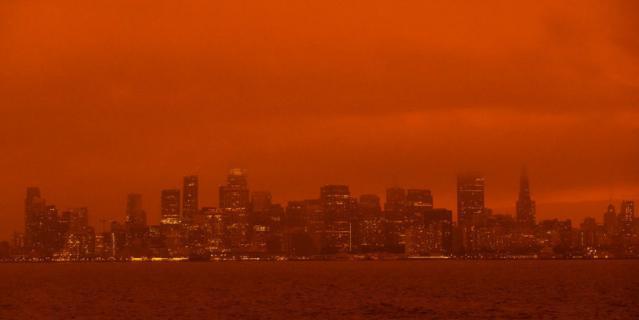 Так выглядит Сан-Франциско сейчас. Фото сделано 9 сентября 2020 года.
