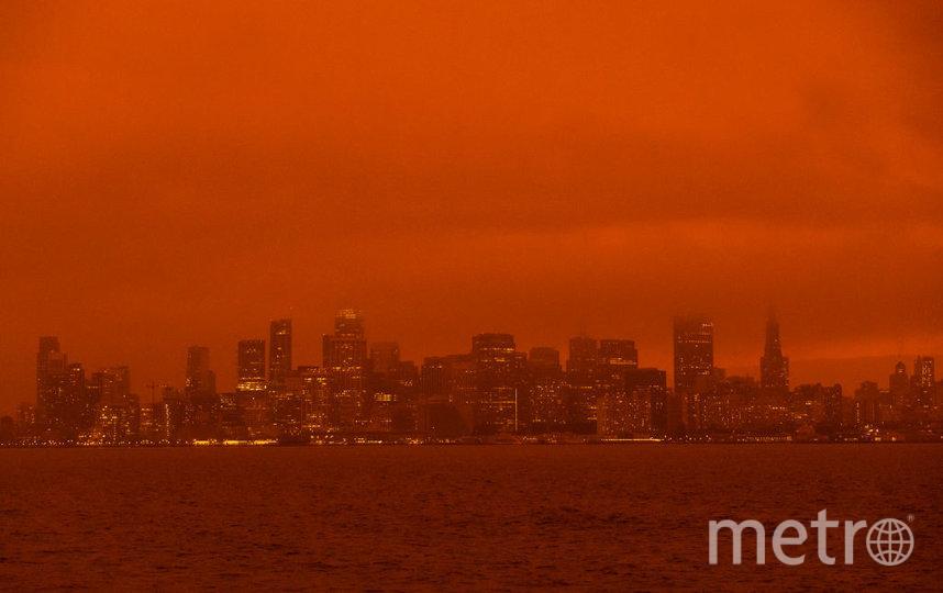 Так выглядит Сан-Франциско сейчас. Фото сделано 9 сентября 2020 года. Фото Getty