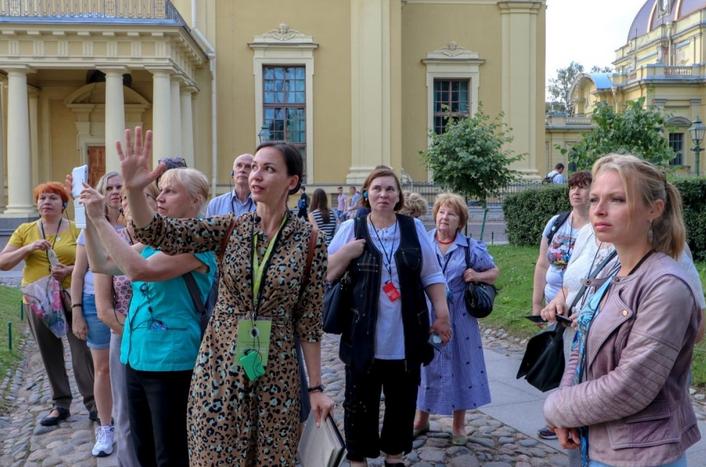 Музеи и выставочные площадки вернулись к работе с 6 июля. Фото Комитет по культуре Петербурга.