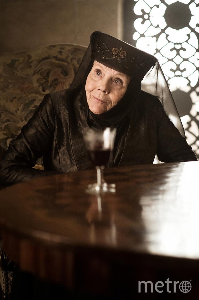 Дайана Ригг в роли Оленны Тиррелл. Фото HBO