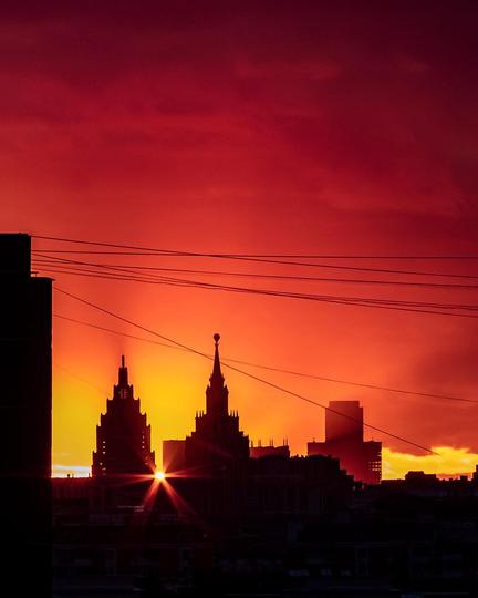 Вид из квартиры Анны на Соколиной Горе. Фото  instagram @ toporkova.pro