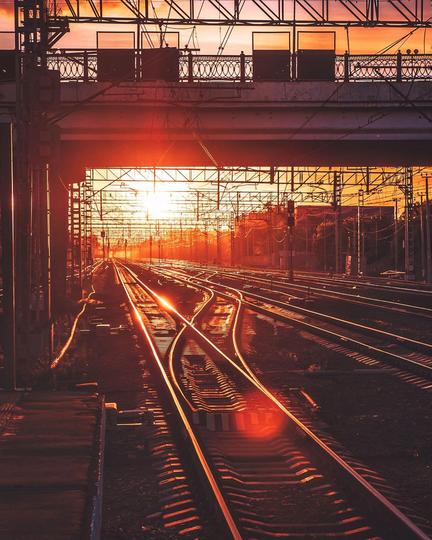 Железнодорожная платформа Химки. Фото instagram @ toporkova.pro
