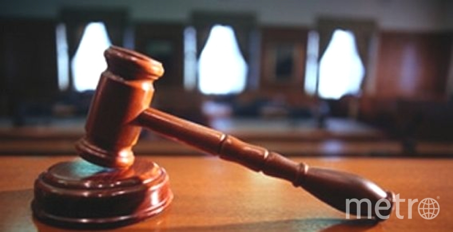 """Судебное заседание проходило в закрытом режиме. Под стражей мужчина останется до 9 ноября. Фото """"Metro"""""""