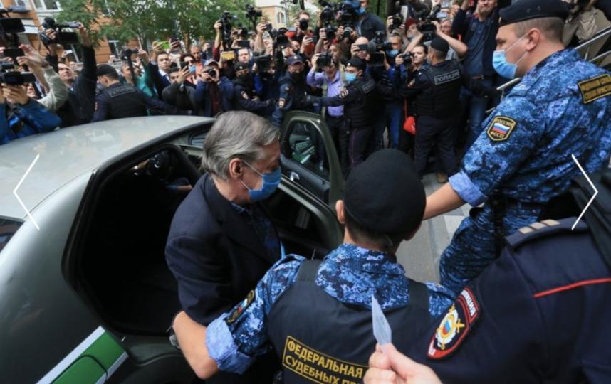 Михаил Ефремов получил реальный срок. Фото Василий Кузьмичёнок