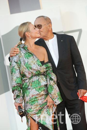Андрей Кончаловский с супругой Юлией Высоцкой. Фото Getty
