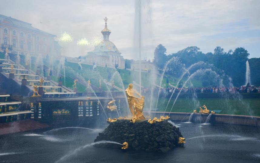 """315-летие в Петергофе отметили на день раньше календарной даты. Фото Святослав Акимов, """"Metro"""""""