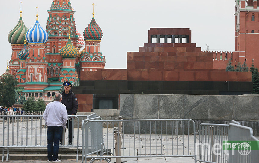 Мавзолей Ленина. Фото Василий Кузьмичёнок