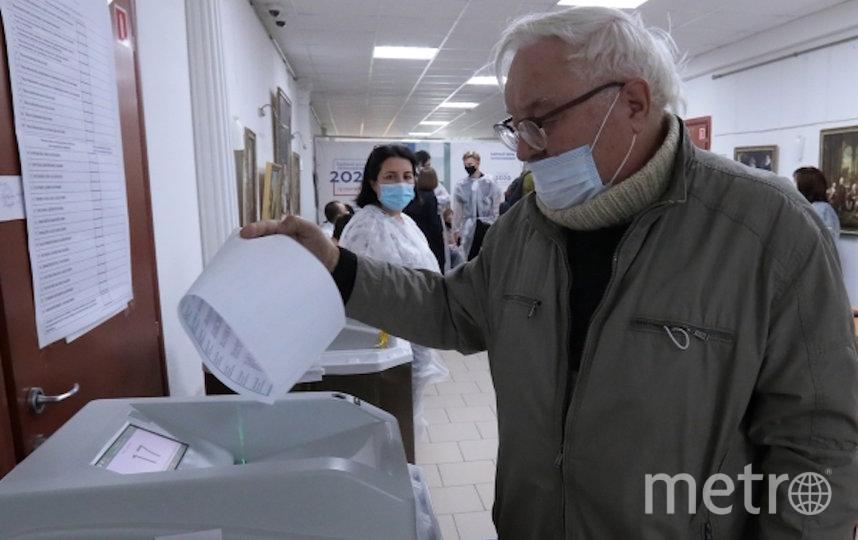 Все избирательные участки в Москве оснащены автоматизированными системами КОИБ. Фото  Виталий Белоусов, РИА Новости