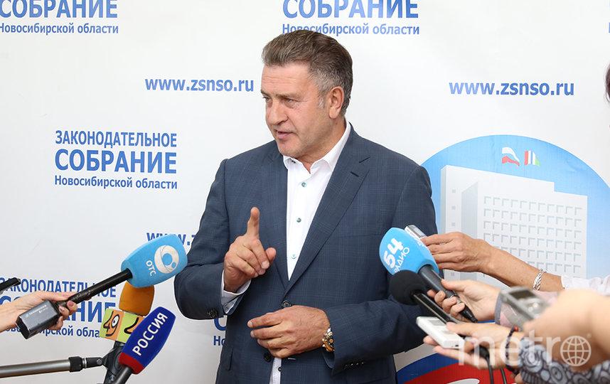 Андрей Шимкив, Председатель Законодательного Собрания Новосибирской области шестого созыва.