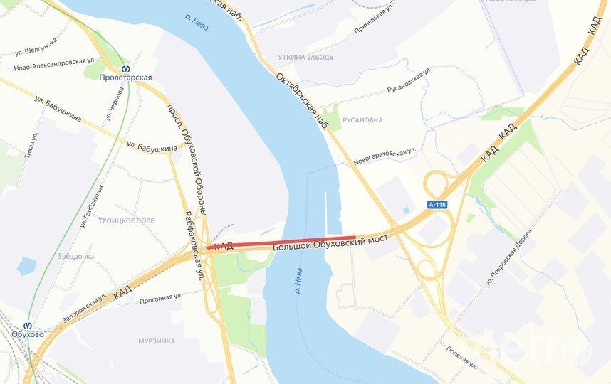 Перекроют две полосы движения на вантовом мосту. Фото ФКУ Упрдор «Северо-Запад», Предоставлено организаторами