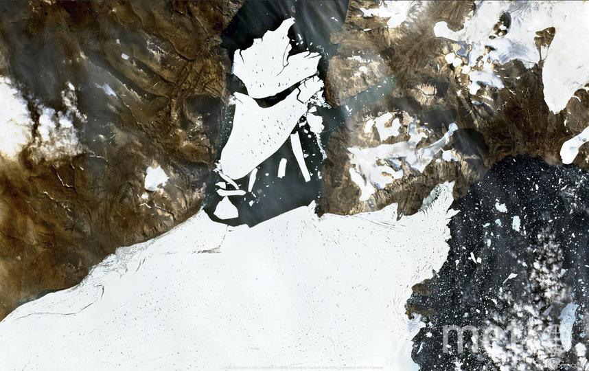 Площадь отколовшегося айсберга составила 113 кв.км. Фото AFP