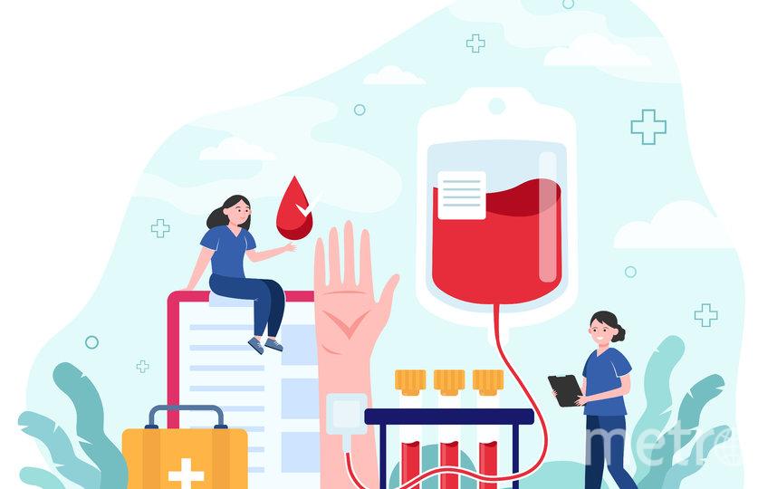 """Во время пандемии сдавать кровь безопасно. Фото freepik.com, """"Metro"""""""