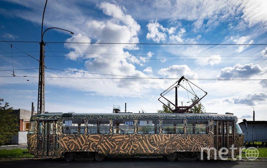 Трамвай будет ходить в центре Екатеринбурга. Фото  предоставлены Василием Матафоновым и пресс-службой фестиваля