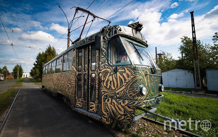 Трамвай будет ходить в центре Екатеринбурга. Фото предоставлено пресс-службой фестиваля
