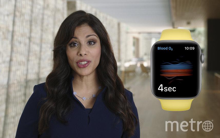 Компания Apple представила часы Apple Watch Series 6 и  iPad Air. Фото AFP