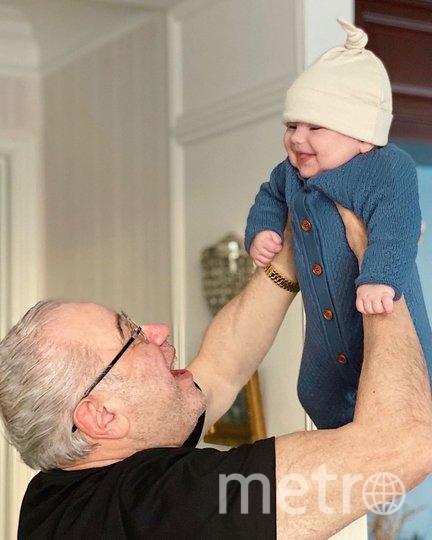 Петросян с сыном. Фото https://www.instagram.com/petrosyanevgeny/