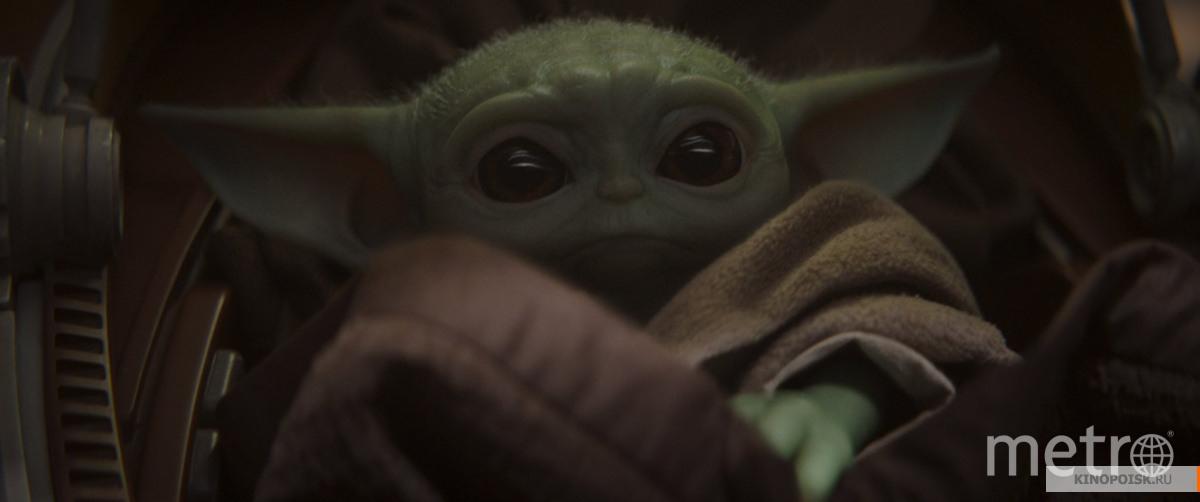 "Кадр из сериала ""Мандалорец"". Фото Disney , kinopoisk.ru"