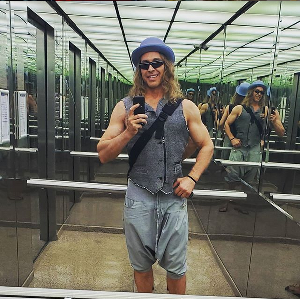 Сергей Глушко (Тарзан). Фото скриншот: instagram.com/tarzan___official/