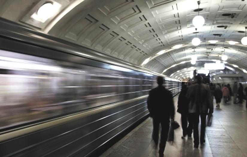 """Движение уже восстановлено. Фото  """"Metro""""."""