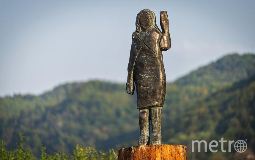 Новая статуя выполнена из бронзы. Фото AFP