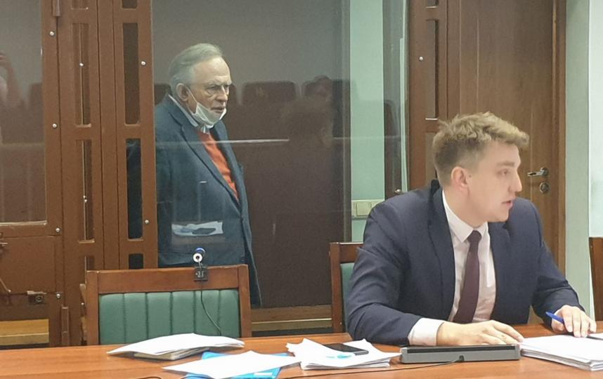 Прошло судебное заседание по делу Соколова. Фото Объединенная пресс-служба судов Петербурга.