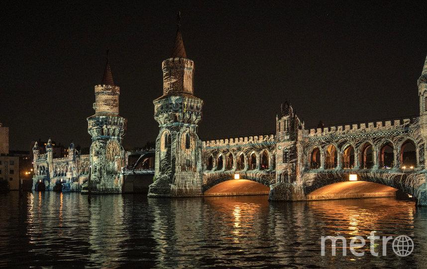 Мост Обербаумбрюкке в Берлине. Фото AFP