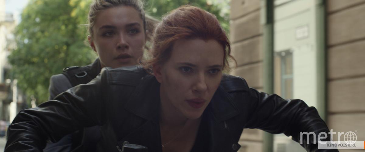 """Кадр из фильма """"Чёрная вдова"""". Фото скриншот: «Дисней Студиос», kinopoisk.ru"""