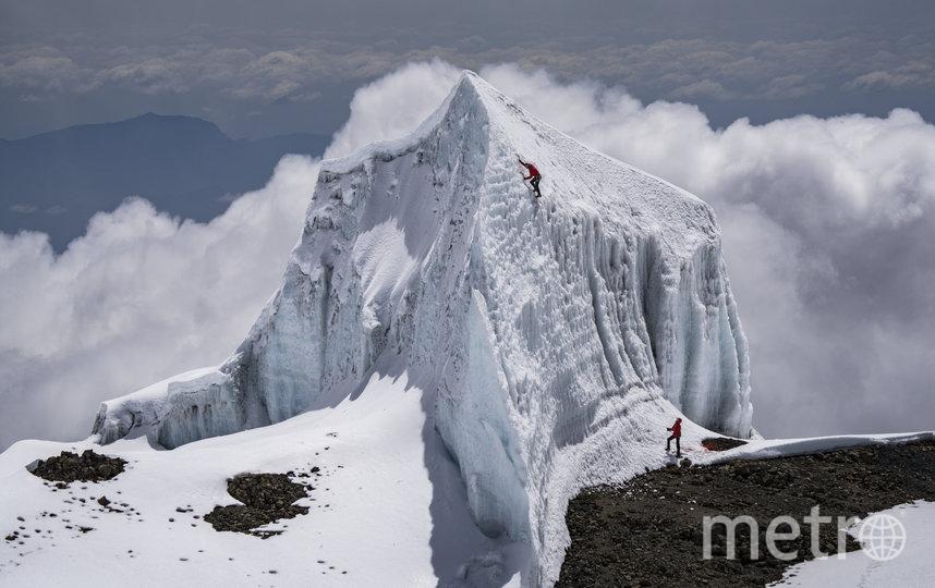 Уилл Гадд в горах. Фото redbullcontenpool.com