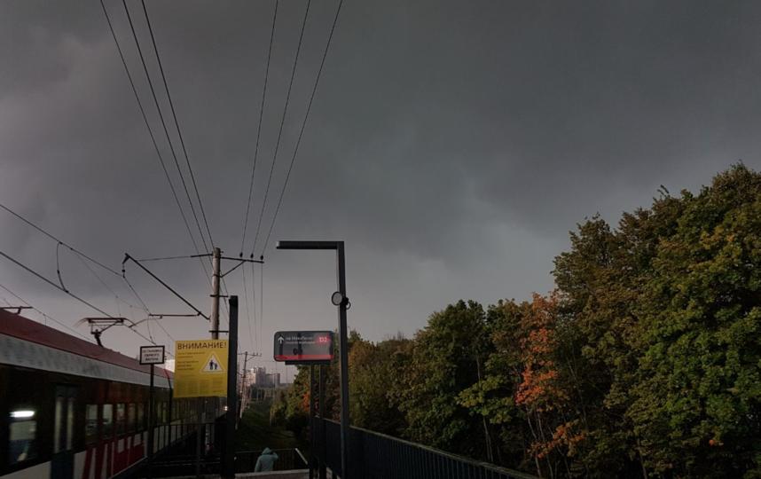 "Непогоду перебросил Петербург. Фото Василий Кузьмичёнок, ""Metro"""