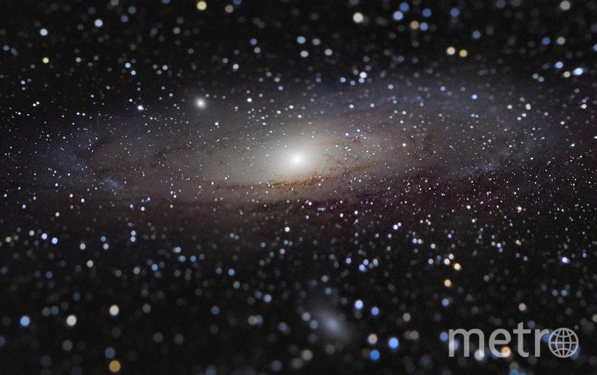 """""""Галактика Андромеды на расстоянии вытянутой руки"""". Фото Николас Лефодо"""