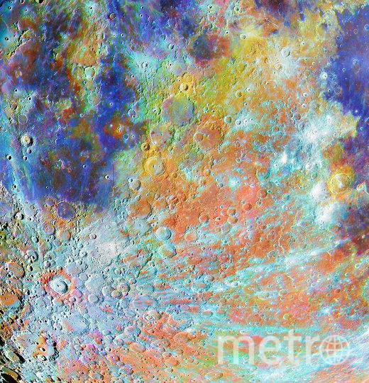 """Кратер Тихо в красках"". Фото Алэн Паулу"