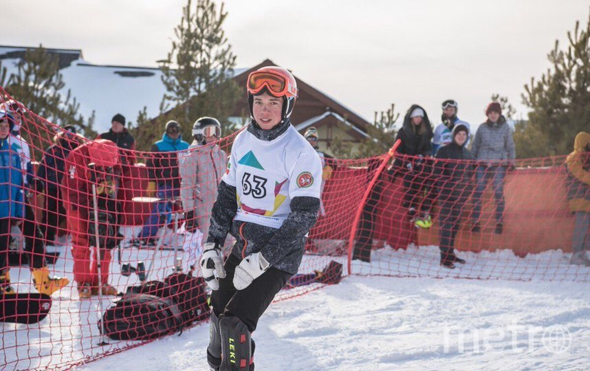 Любимый спорт Марка – сноуборд. Именно в нём он хочет стать профессионалом. Фото vk.com/mrk.smnv