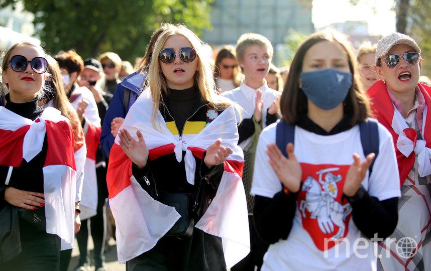 С 10 августа в разных городах Белоруссии проходят несанкционированные акции протеста. Фото AFP