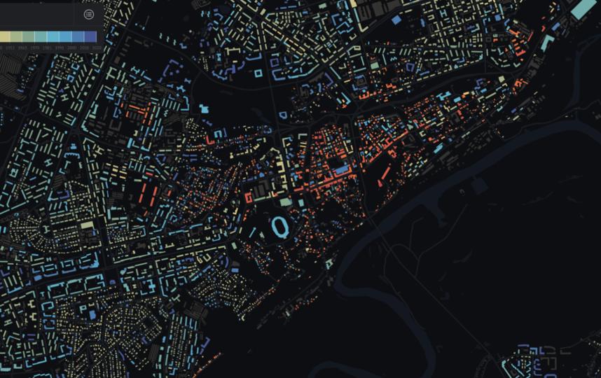 """Карта Владимира. Фото Скриншот https://how-old-is-this.house/, """"Metro"""""""
