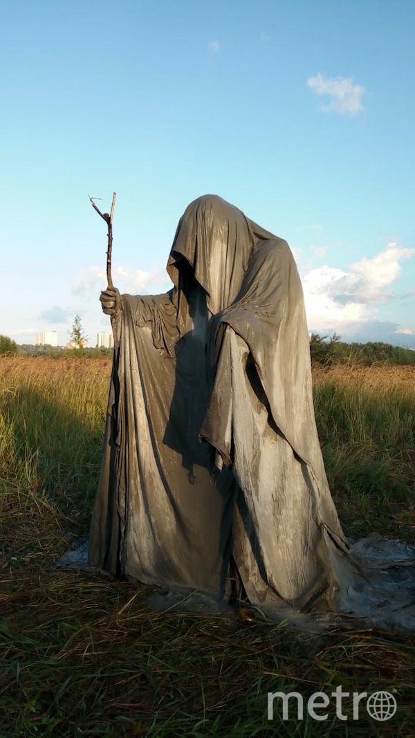 Старец в поле стал жертвой вандалов. От него остались только фото. Фото Дмитрий Горб