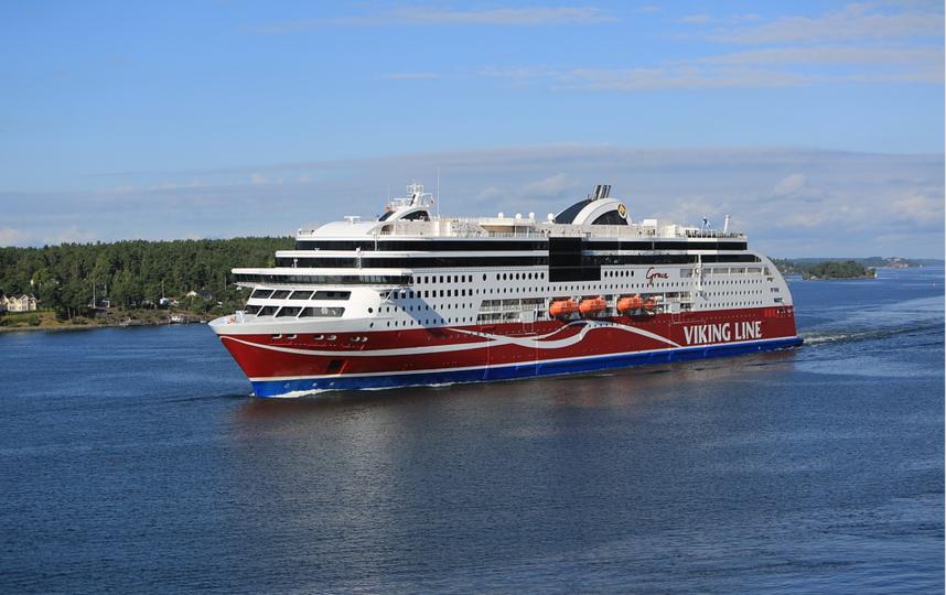 """Паромы сети """"Викинг лайн"""" возят туристов из Финляндии в Швецию. Фото pixabay.com"""