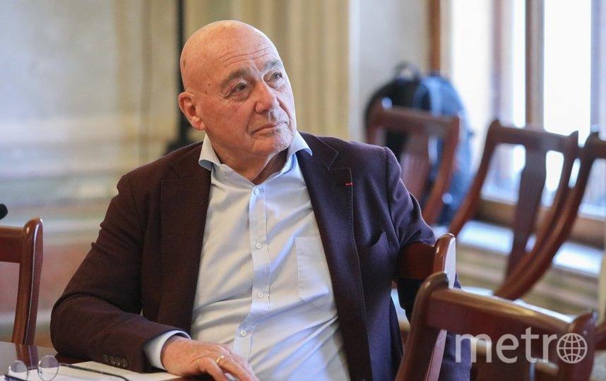 """Владимир Познер. Фото агентство """"Москва"""""""