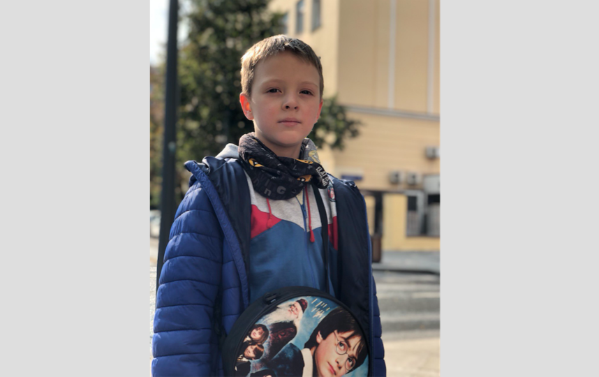 "Вова, ученик 3-го класса, 8 лет. Фото Булат Мавлютов, ""Metro"""