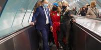 В Петербурге звёзды спорта отказались от автомобилей в пользу метро