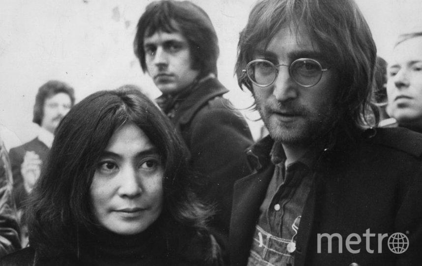 Джон Леннон и Йоко Оно. Фото Getty